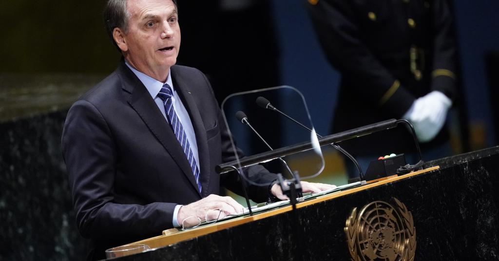 BOLSONARO AFIRMA NA ONU QUE CHAMAR AMAZÔNIA DE PATRIMÔNIO DA HUMANIDADE É FALÁCIA