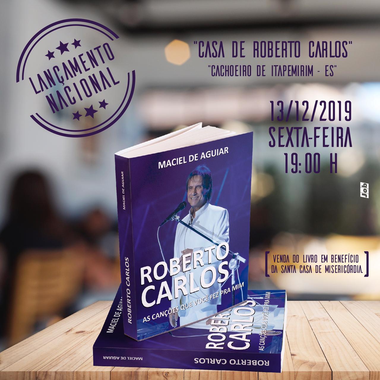 Escritor Maciel de Aguiar lança seu 142º livro.